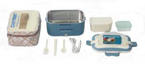 Bộ sản phẩm đầy đủ của hộp cơm Chefman CM - 112 N