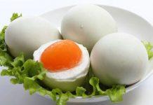 Tác dụng của trứng vịt muối