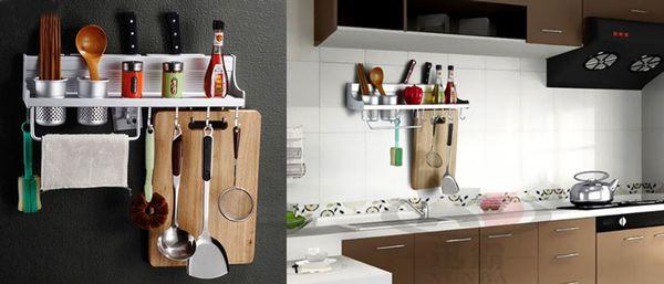 Giá treo đồ nhà bếp đa năng mang đến cho bạn không gian bếp thoáng đãng
