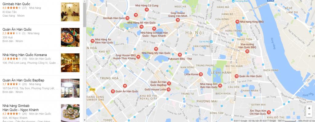 Những quán ăn Hàn Quốc ngon - bổ -rẻ tại Hà Nội