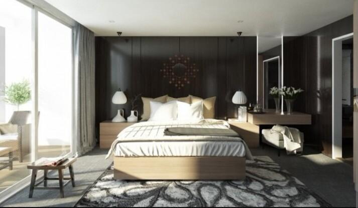 Thiết kế căn hộ phòng ngủ