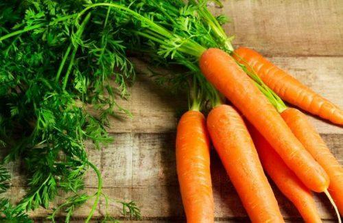 Cà rốt giúp trị viêm họng cho bà bầu