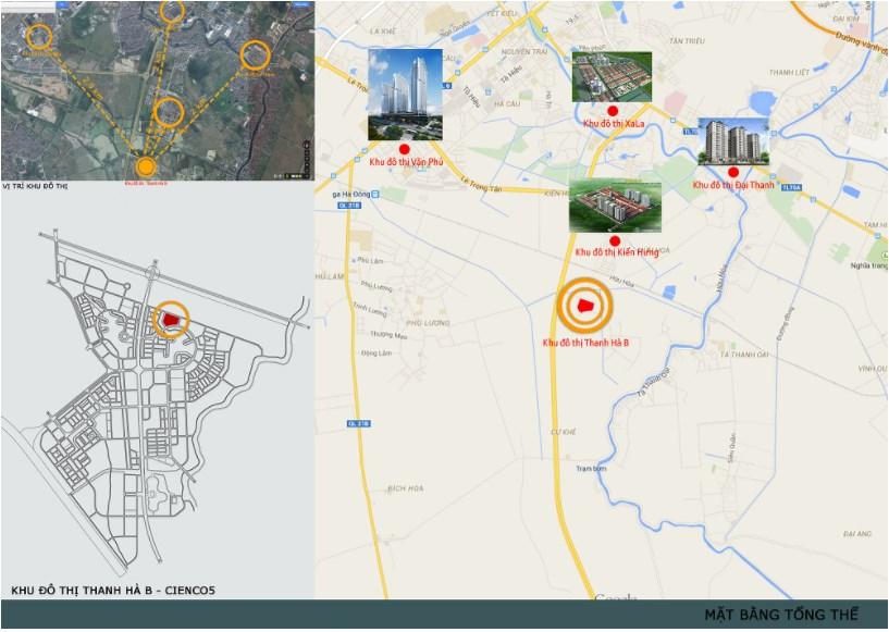 Dự án chung cư hh03 Thanh Hà Cienco 5 có vị trí đắc địa
