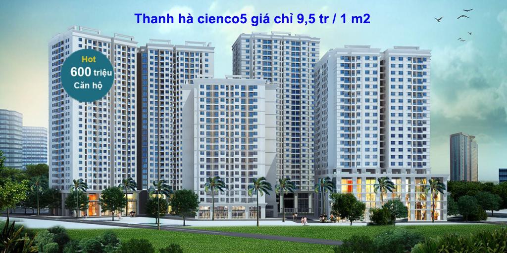 Mở bán chung cư HH03 Thanh Hà Ci