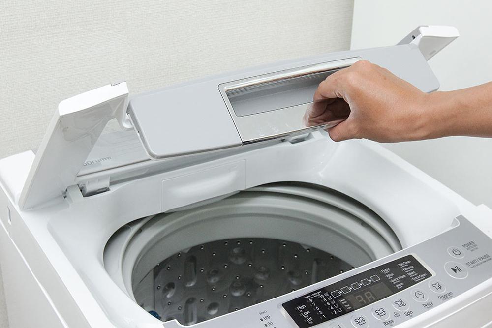 Thường xuyên vệ sinh cho lồng giặt