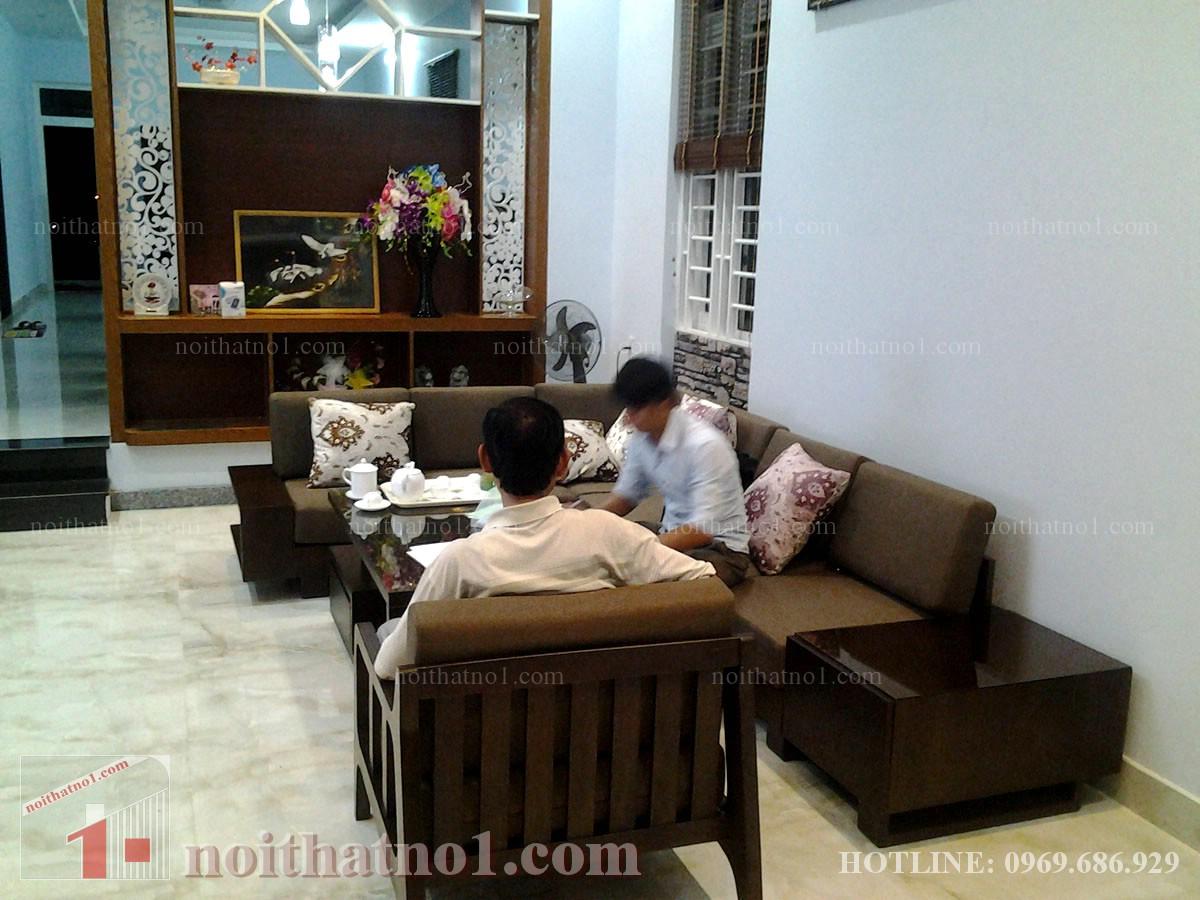 bàn ghế phòng khách biệt thự