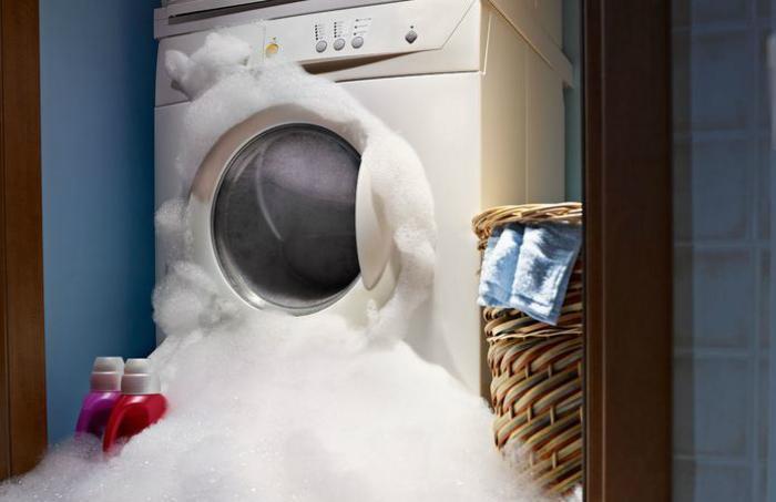 Đặt không đúng chế độ giặt đồ