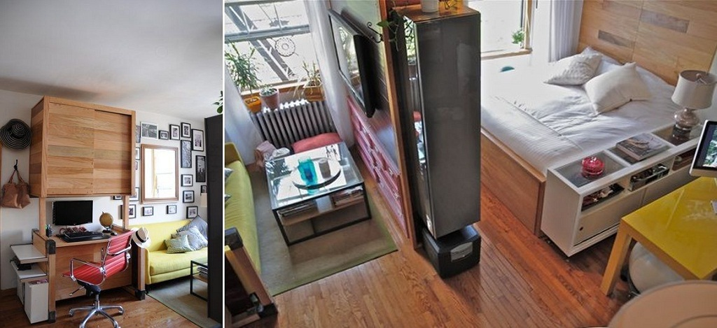 Chọn nội thất đa năng tiện dụng cho nhà nhỏ hẹp