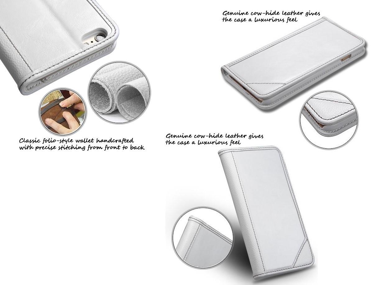 Ốp điện thoại ghép ví dàng cho dòng iphone 6