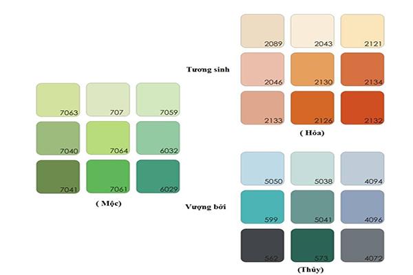 Tính cách và cách chọn màu sơn nhà cho người mệnh Mộc