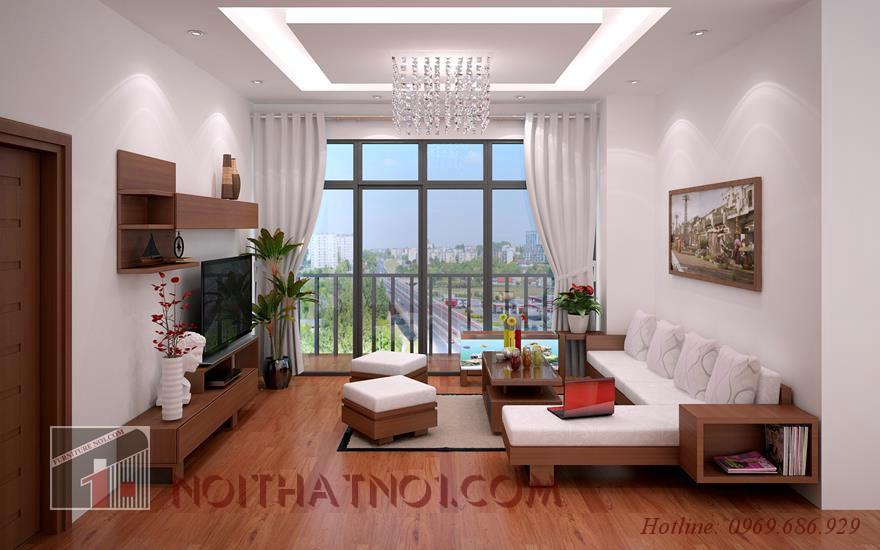 Chọn nội thất phòng khách đẹp cho người độc thân