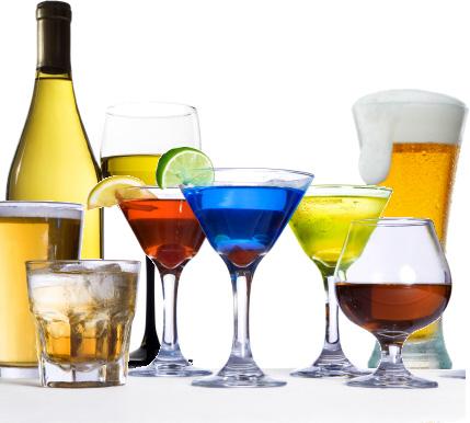 Các loại đồ uống chứa cồn