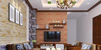 Bàn ghế gỗ xoan cho nhà chung cư hiện đại