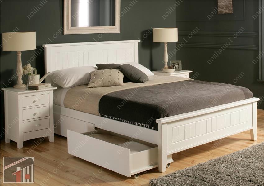Top địa chỉ bán giường ngủ gỗ công nghiệp tại Hà Nội giá rẻ - uy tín