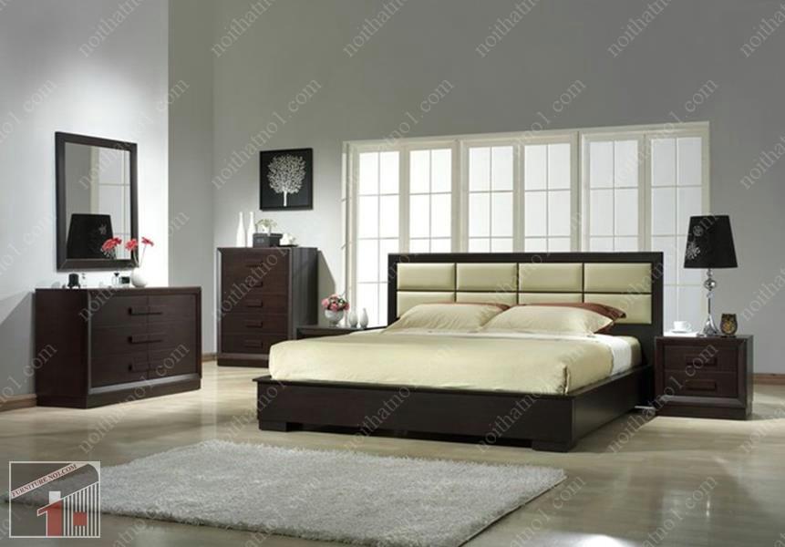 Địa chỉ bán giường ngủ gỗ công nghiệp tại Hà Nội