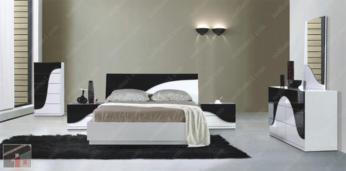 Top địa chỉ bán giường ngủ gỗ công nghiệp tại Hà Nội giá rẻ đẹp