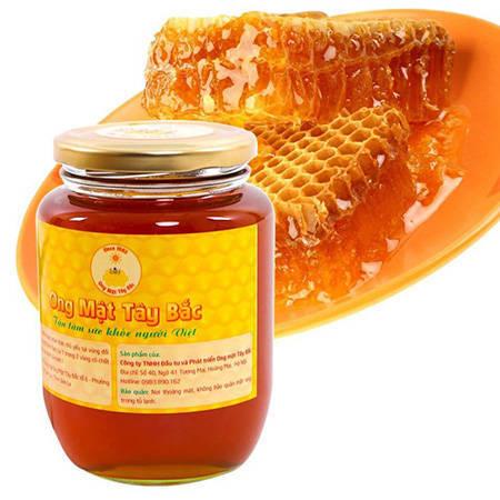 in an tem nhan tren chai mat ong