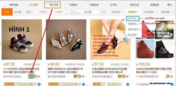 Nhập hàng Trung Quốc giá gốc