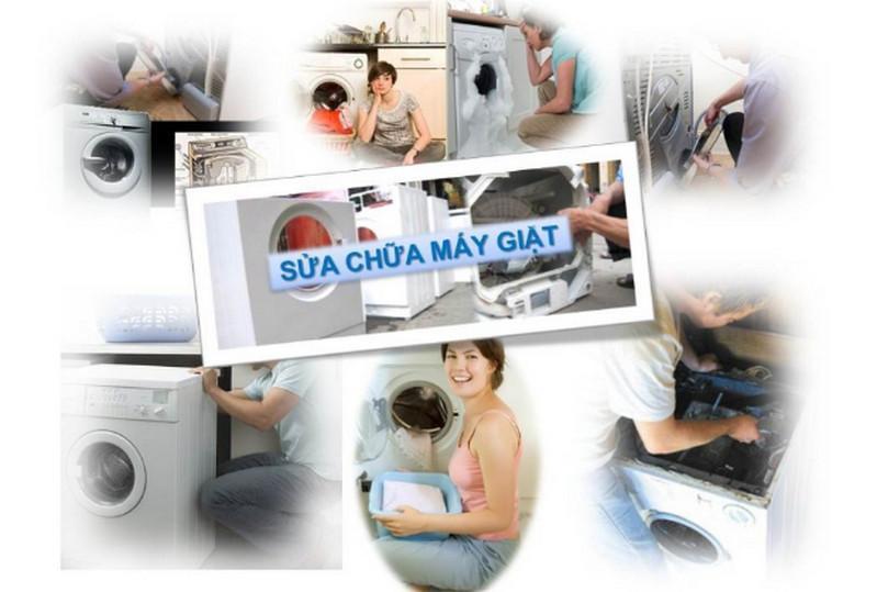 Sử dụng dịch vụ sửa chữa máy giặt khi gặp các hỏng hóc kỹ thuật