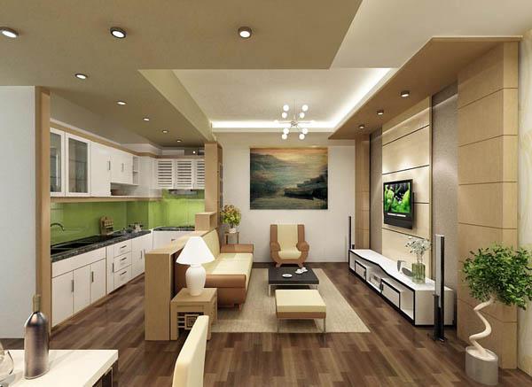 chọn không gian mở cho nhà nhỏ hẹp mà đẹp