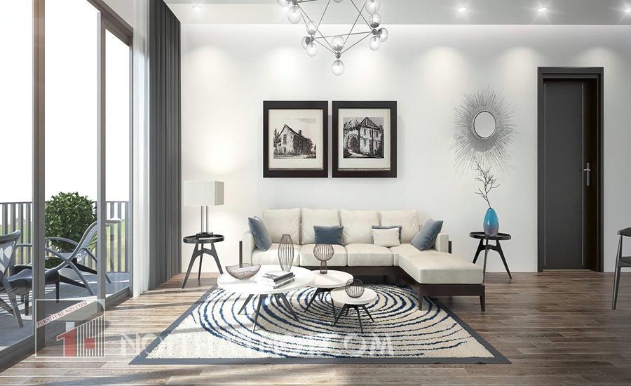 Lưu ý khi thiết kế nội thất căn hộ chung cư 75m2