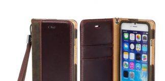 Ốp điện thoại da kiêm ví Aceabove dành cho iphone 6