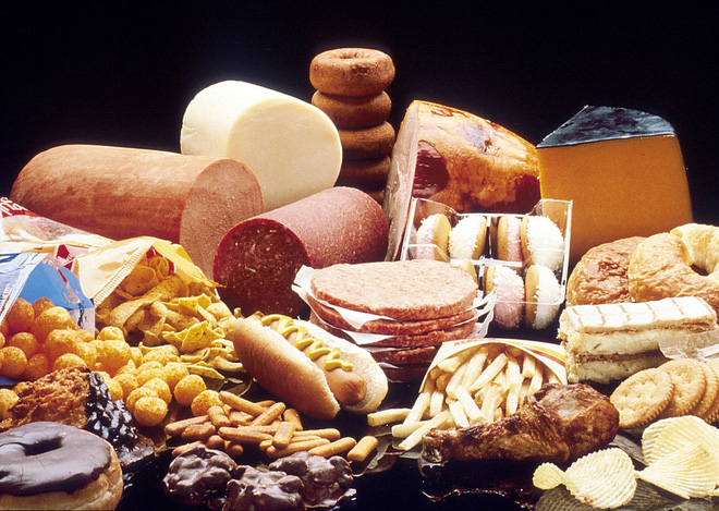 Giảm ăn thực phẩm nhiều năng lượng