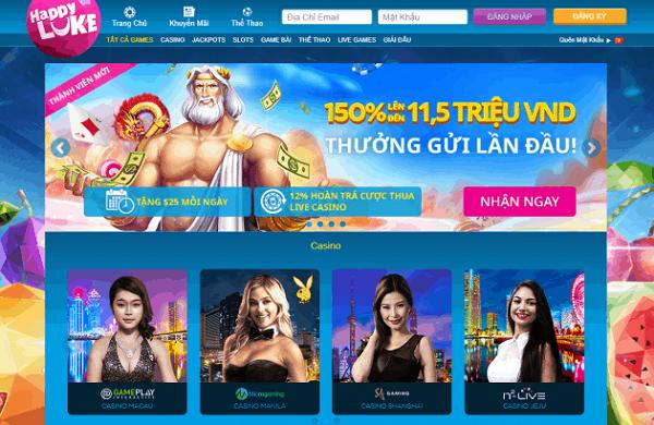 Happyluke là một trong những nhà cái đến từ châu Âu tại thị trường Việt Nam
