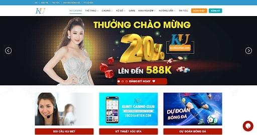 Kubet cung cấp đa dạng dịch vụ giải trí online