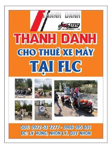 Cho thuê xe máy Nhơn Lý FLC - Thanh Danh