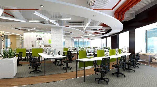 Thiết kế nội thất văn phòng là một công việc không hề đơn giản, dễ dàng.
